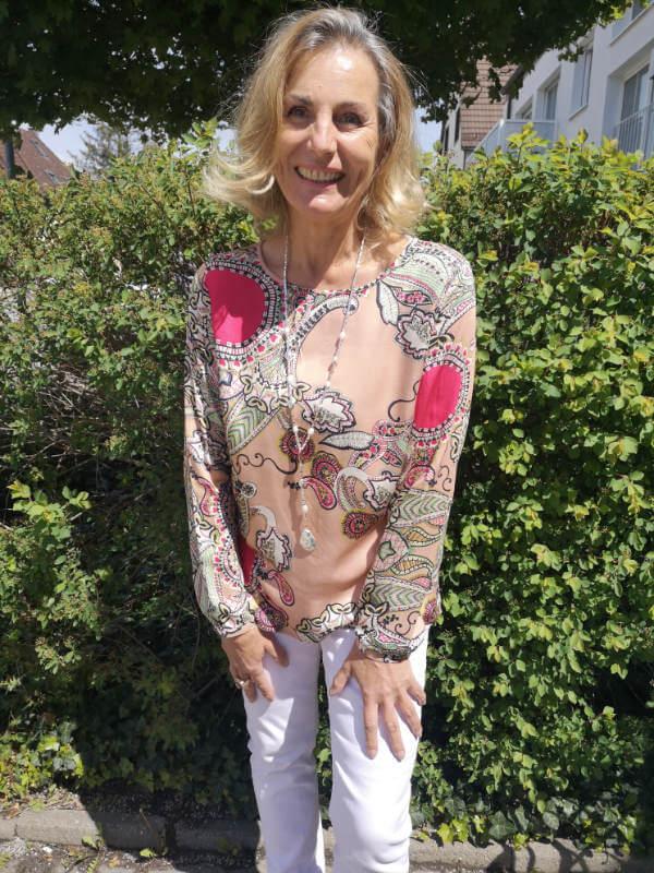 Betty Barclay Pfirsichhaut Jacke 89,99 € Milano Blusenshirt Kurzarm 59,95 € Langarm 69,95 €